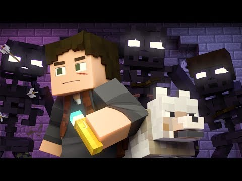 """""""Rush Over Me"""" - Minecraft Animated Music Video"""