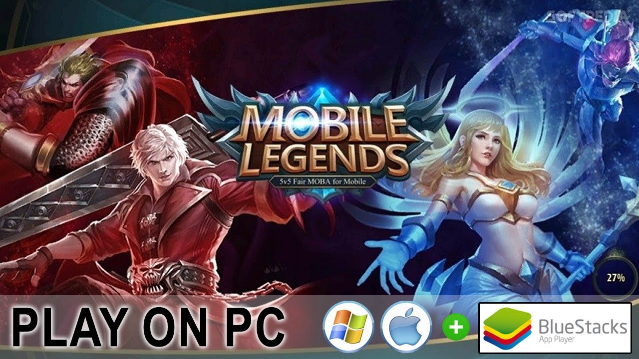 play game mobile legends on pc with bluestack for mac and