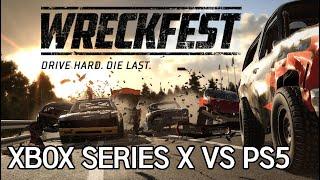 WRECKFEST XBOX SERIES X VS PS5…