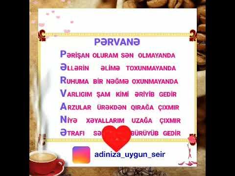 Pərvanə Adlara Seirler Youtube