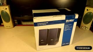 SVEN SPS-604:распаковка