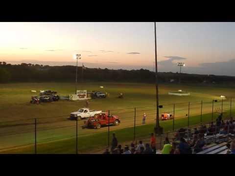 TWMA 8-6-16 - 85 Speedway - Heat #2