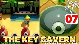 The Key Cavern & Slime Eye in Link's Awakening Switch - 100% Walkthrough 07