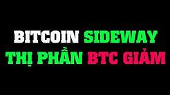 #112: Bitcoin sideway, thị phần bitcoin giảm   Minh Thắng Tradecoin