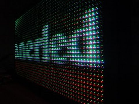 How It's Made™ LED Screen ∞©ЯR©∞