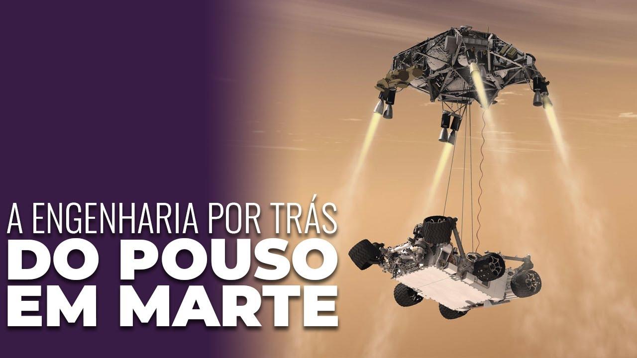 A Engenharia por trás do pouso em Marte