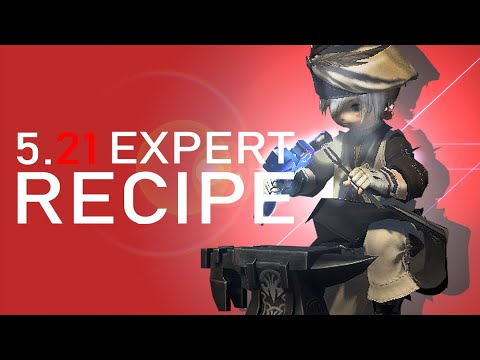 FFXIV - 5.21 Expert Recipe /w Lousy Equipment