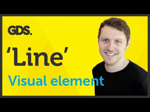 'Line' Visual element of Graphic Design / Design theory Ep2/45 [Beginners guide to Graphic Design]