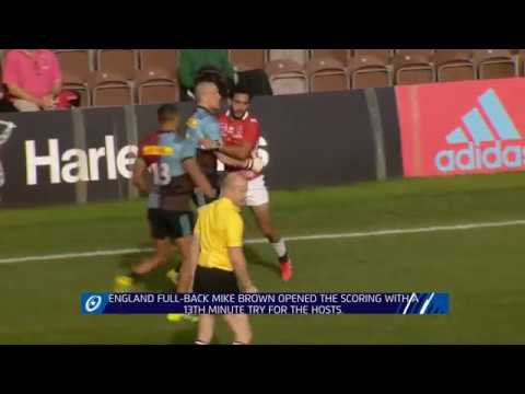 Highlights: Harlequins 54-22 Agen