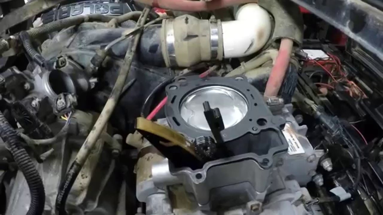 Polaris 570 Motor Rebuild - YouTube