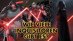 Wie viele imperiale Inquisitoren gibt es?
