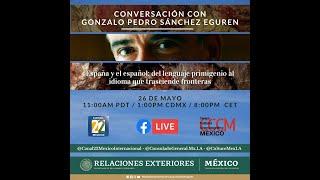 Conversación con Gonzalo Pedro Sánchez Eguren, especialista en lenguaje primigenio   26 de mayo