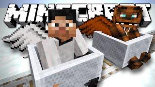 - СНЕЖНЫЕ ГОРКИ Minecraft Обзор Карты
