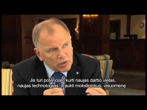 Interview Vytenis Povilas Andriukaitis -  Minister of Health of the Republic of Lithuania