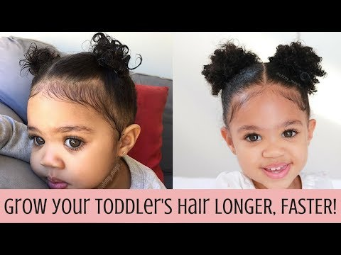 How to Grow your toddler's hair LONGER, faster!