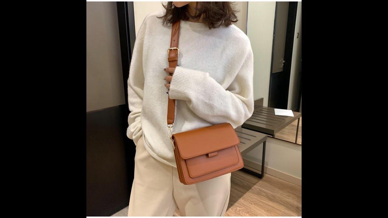 Túi hộp đeo chéo nữ thời trang phong cách vintage – Túi đeo chéo da PU chống nước | Bao quát những thông tin liên quan thời trang vintage chuẩn nhất