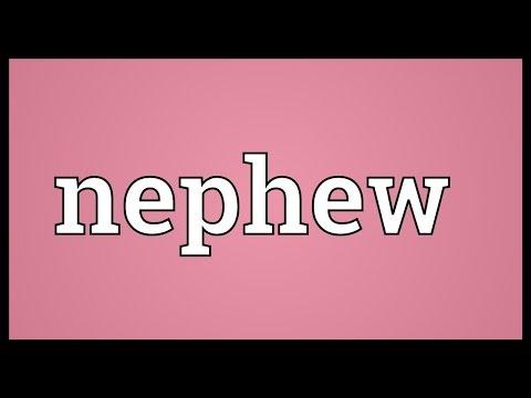 Nephew Meaning Youtube