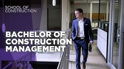 Bachelor of Construction Management degree