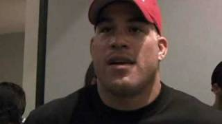 Tito Ortiz on His 2nd Win over Ken Shamrock at UFC 61 - MMA Weekly News