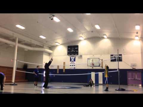 Ollin Apatiki. Gambell, Alaska. Volleyball Skills.
