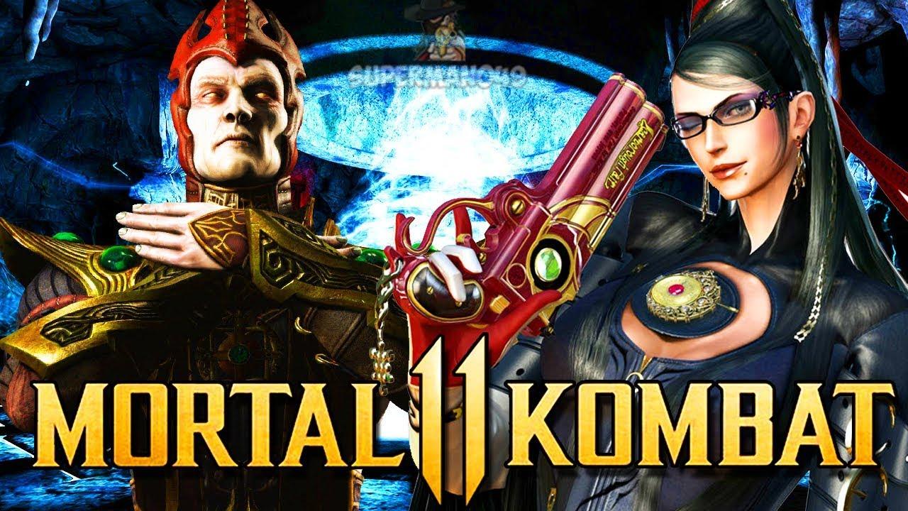 MORTAL KOMBAT 11: Bayonetta Guest DLC & Shinnok Leaked? New