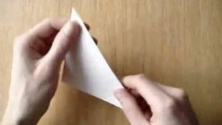 Как сделать хлопушку из бумаги (обучающее видео)(Как сделать хлопушку из бумаги - видео-инструкция. Полная текстовая версия доступна на