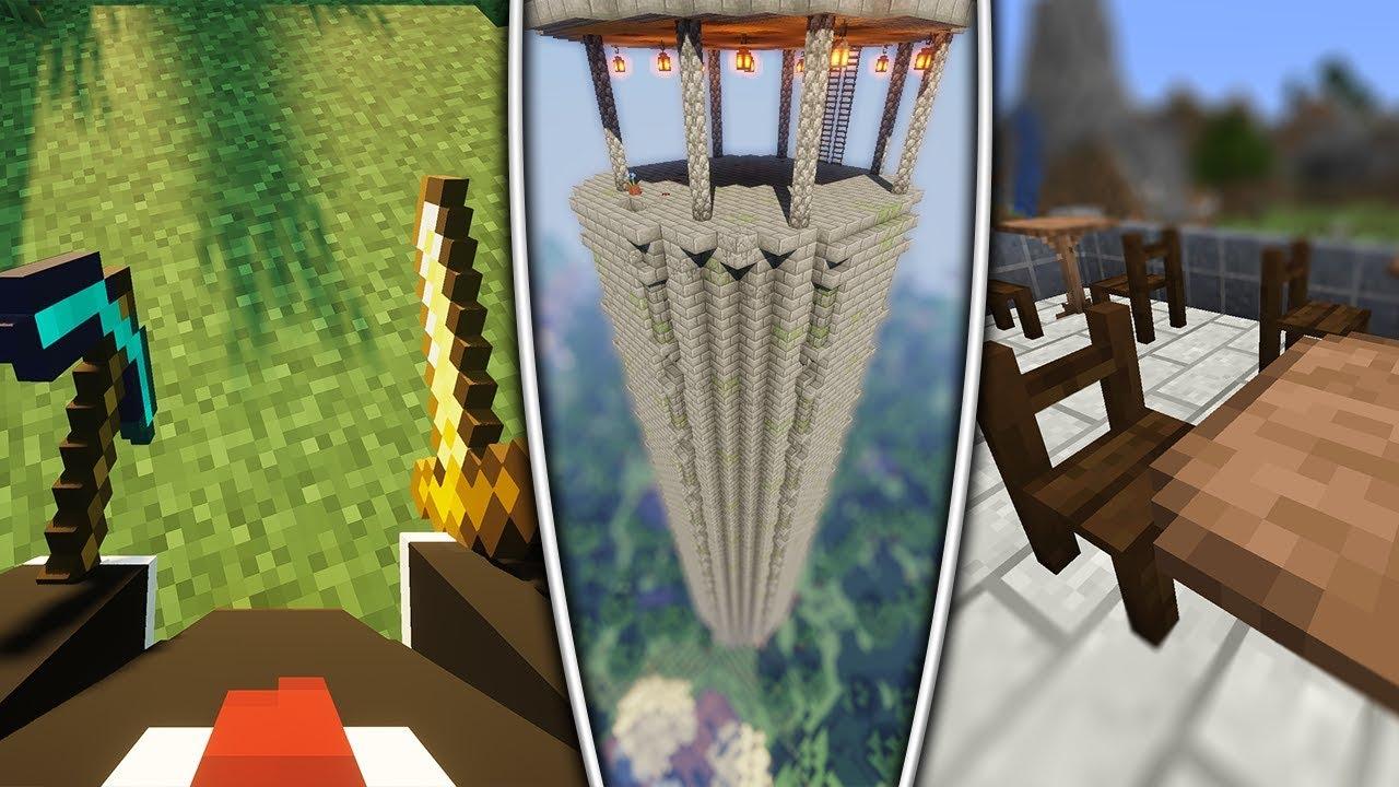 Top 1111 Minecraft Mods (11.111.11) - 20119