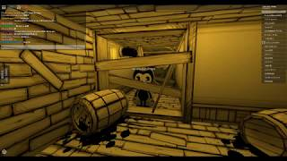Im Playing a Bendy RP On ROBLOX :D