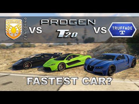 """Progen T20 vs Osiris vs Zentorno vs Adder - """"GTA 5 Ill Gotten Gains Part 2"""""""