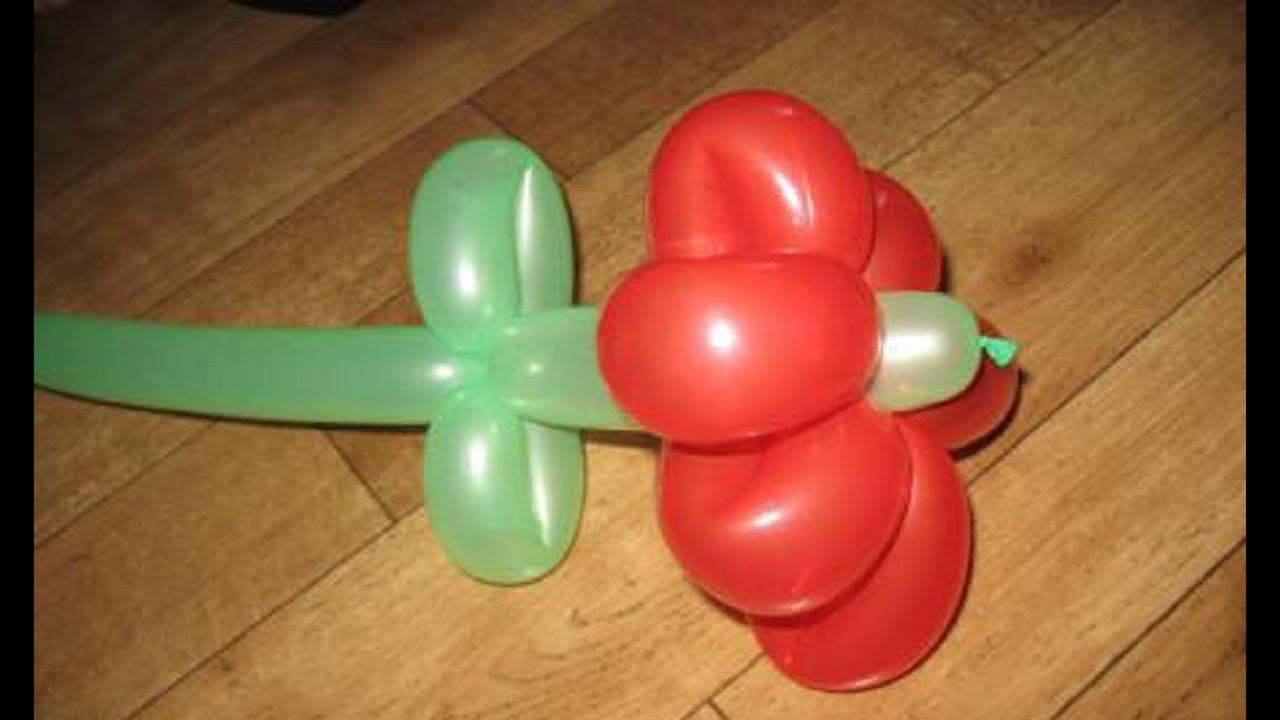 Hedendaags Ballonvouwen de bloem 1 - YouTube WB-01