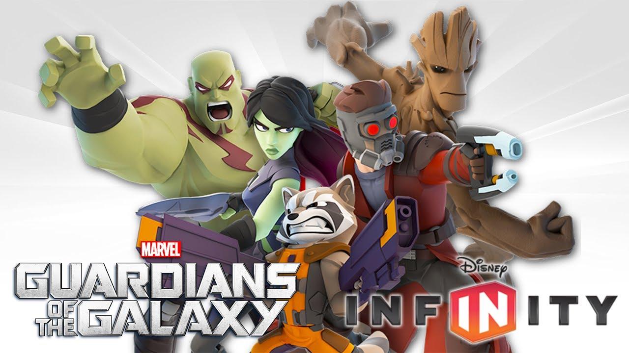 Guardiani della galassia giochi di supereroi cartoni
