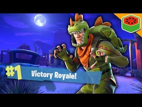 TERRIFYING DINOSAUR SQUAD! | Fortnite Battle Royale