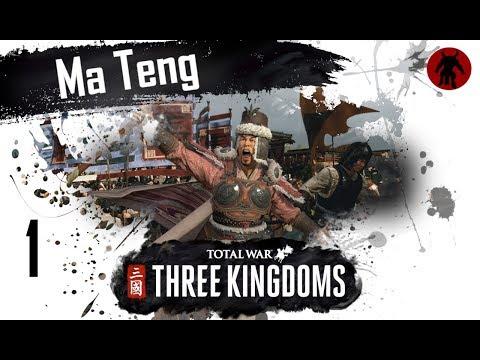 Total War: Three Kingdoms - Ma Teng Romance Mode Campaign