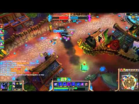 League of Legends Dominion Gameplay   Nocturne