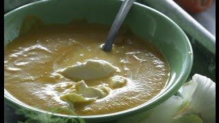 Юлия Высоцкая — Морковный суп-пюре с кориандром