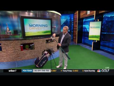 Ben Hogan clubs featured on Golf Channel's Morning Drive
