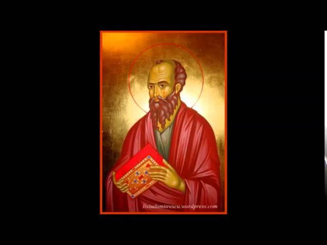 7. Intaia Epistola catre Corinteni a Sfantului Apostol Pavel, Noul Testament Crestin Ortodox