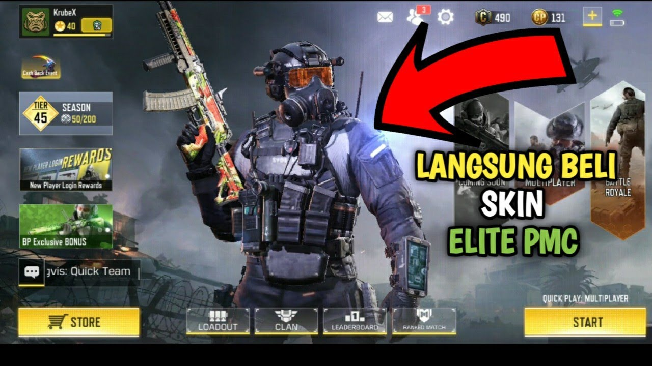 Call Of Duty Mobile Elite Pmc Game And Movie
