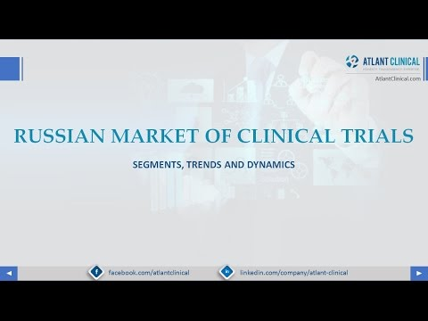 Russian market of clinical trials: Segments, Trends and Dynamics vol. 1