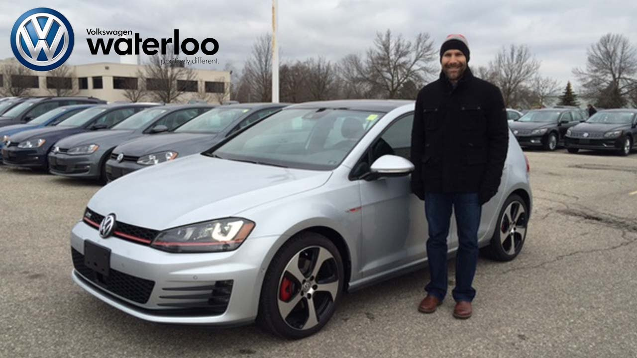 2016 Vw Gti Review In Reflex Silver At Volkswagen Waterloo With Robert Vagacs You