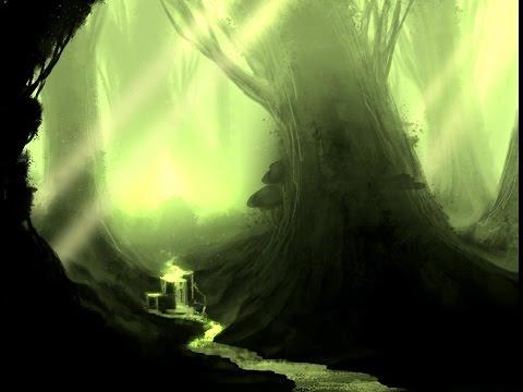 Speedpaint- Fantasy Landscape