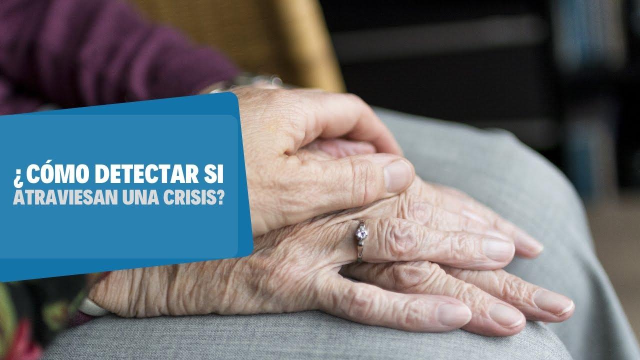 Cómo evitar crisis en adultos mayores durante la cuarentena