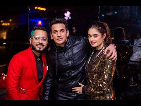 A star studied b'day bash by Star boy LOC in Mumbai | Prince Narula, Yuvika Chaudhary