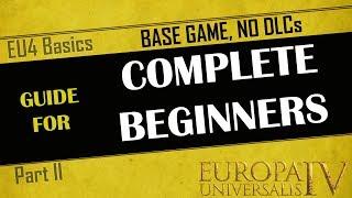 EU4 Guide for Complete Beginners | Part 2 - WAR | Base Game, No DLC | Tutorial