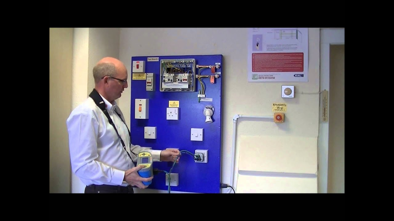 Earth Fault Loop Impedance Diagram 24v Starter Solenoid Wiring Test On A Final Circuit Youtube