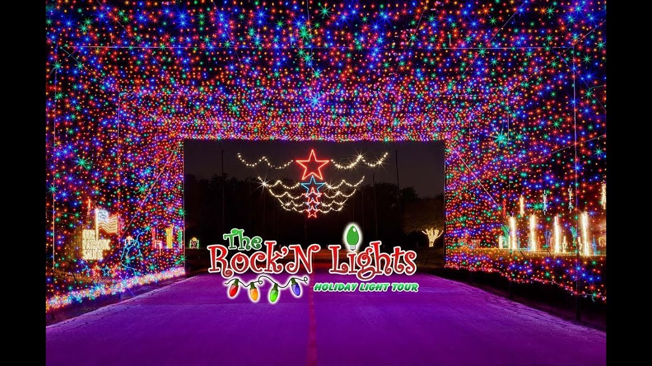 Rock n lights holiday light tour christmas towne youtube
