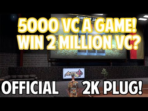NBA 2K18 NO GLITCH LEGIT 5000 VC A GAME! WIN 2 MILLION VC? STOPPING FAKE NBA 2K18 VC GLITCHES!