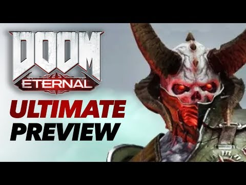 Doom Eternal Gameplay  The Ultimate Preview