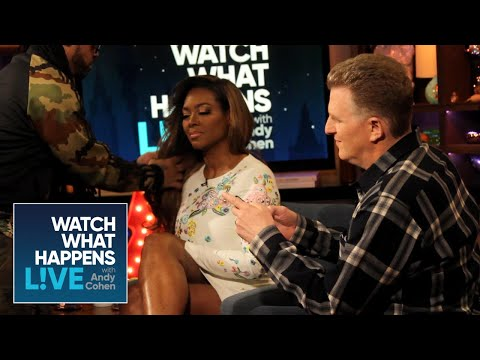 Backstage For Kenya Moore's Epic down With Michael Rapaport  WWHL