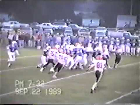 Ponca Indians football 1989 (Laurel, Stanton, Emerson)